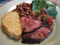 Santa Maria BBQ plate, source:http://is.gd/4XWktl