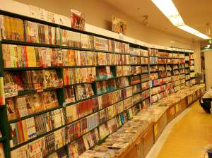 Manga, as far as the eye can see