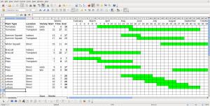 Gantt Chart Calendar