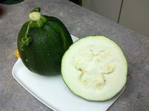 Eight-Ball squash has Lots of big seeds.