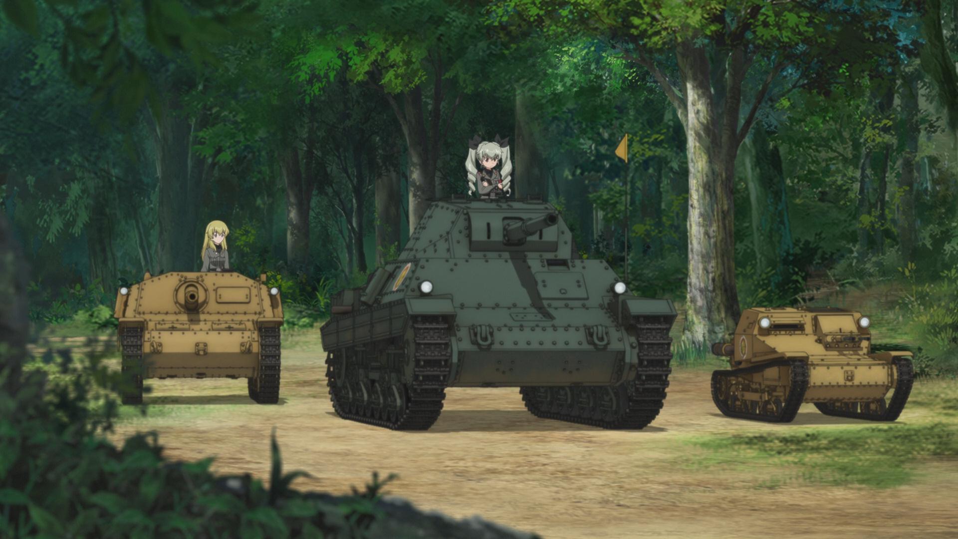 Girls Und Panzer The Anzio Ova Foundonweb