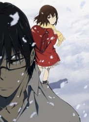 3. Boku Dake: Sad girl in snow forces mangaka to invent time travel