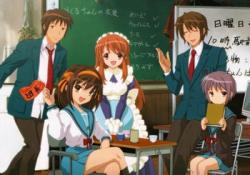 Kyon, Haruhi, Time Traveler, ESPer , Alien