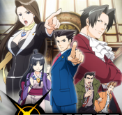 2. Gyakuten Saiban Phoenix Wright struggles to exist in a world without competent barbers