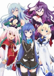 Ange Vierge Five girls play cards