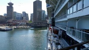 Downtown Vancouver from the cruise ship dock