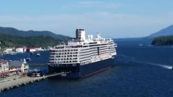 Four cruise ships, at 3,000 passengers each...