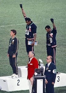 Tommie Smith and John Carlos, 1968