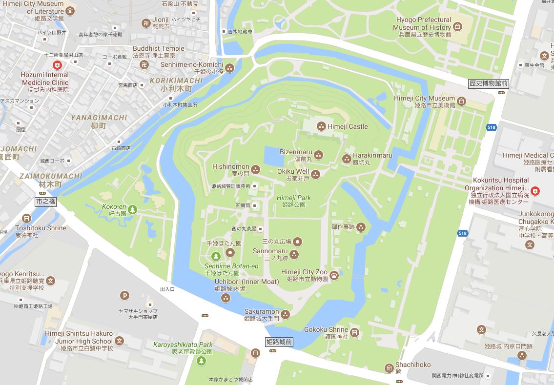 Himeji Castle FoundOnWeb
